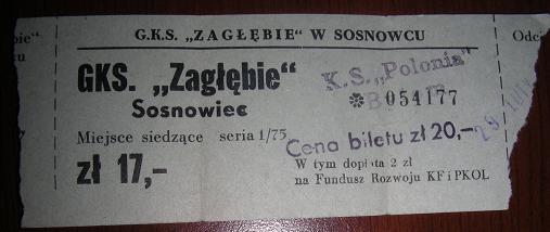 Plik:Bilet ZS - Polonia Bytom 29-02-1976.jpg